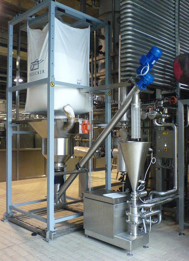 Disperseur ou incorporateur de poudres dans le liquide Ytron-XC