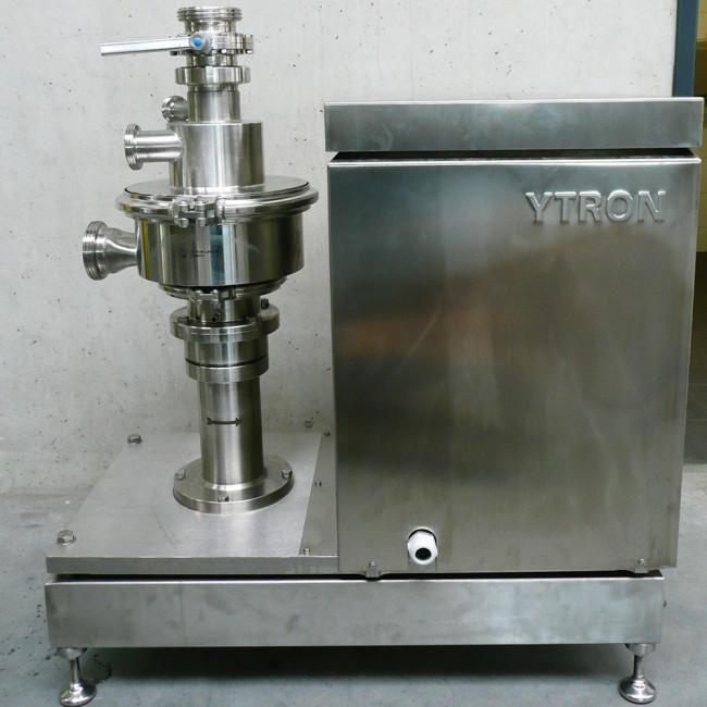 Homogénéisateur, Disperseur ou incorporateur de poudres dans le liquide Ytron-XC