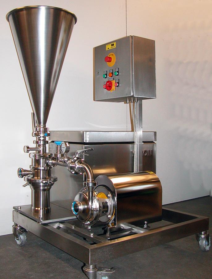 Mélangeur industriel continu Ytron-ZC